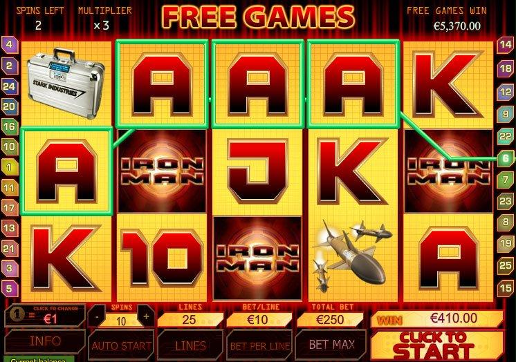 Slot Machine Gratis Iron Man
