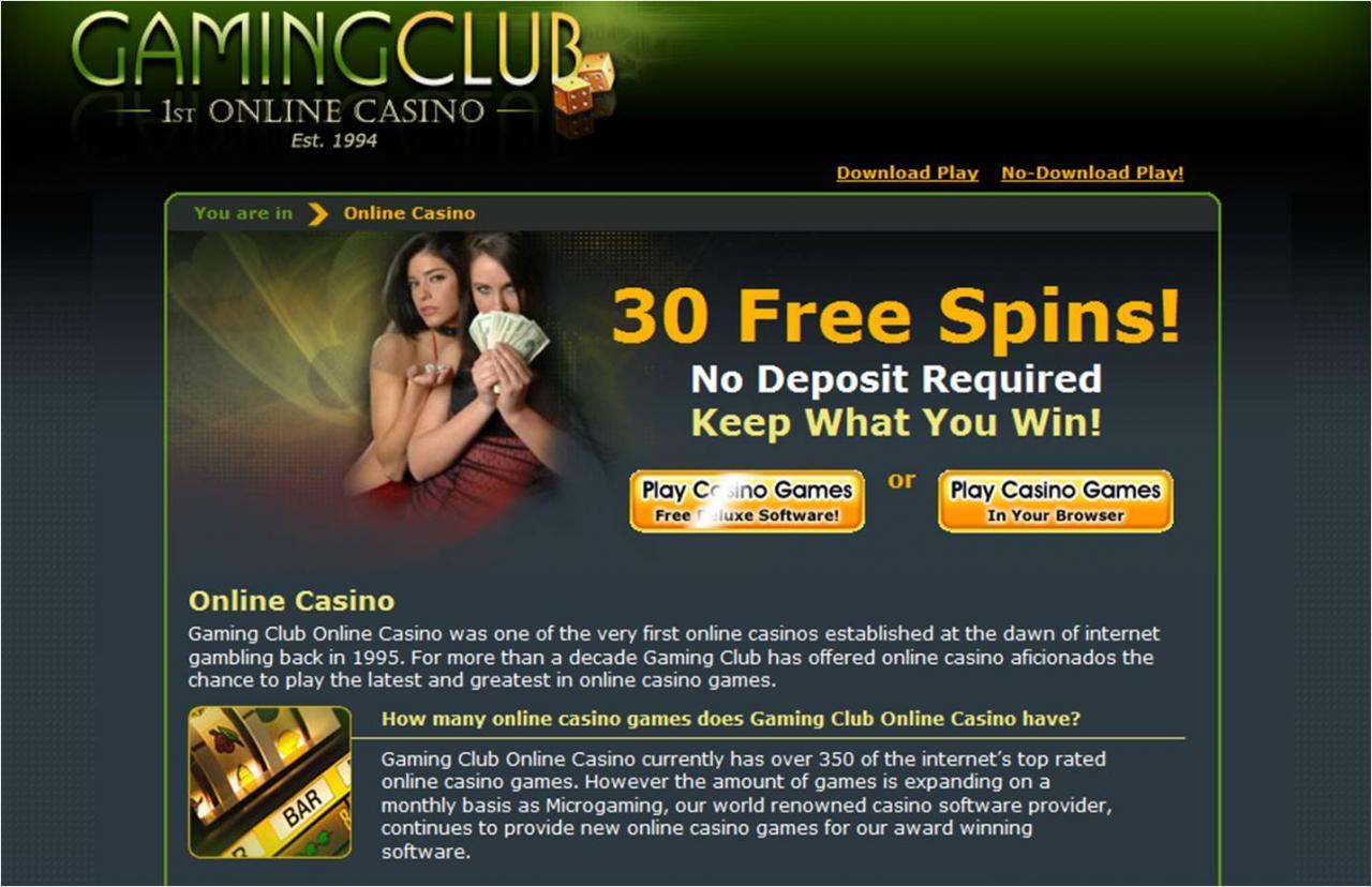 30 Free Spins No Deposit Required