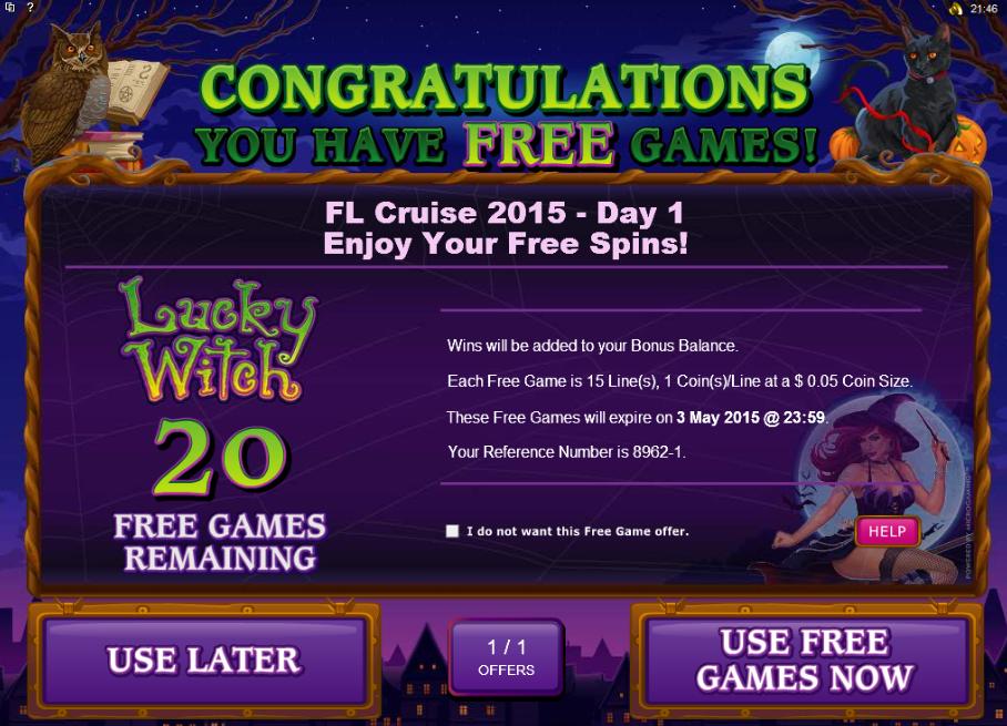Casino Cruise Bonus Code No Deposit