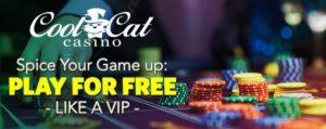 Description: Cool Cat Casino No Deposit Bonus Codes