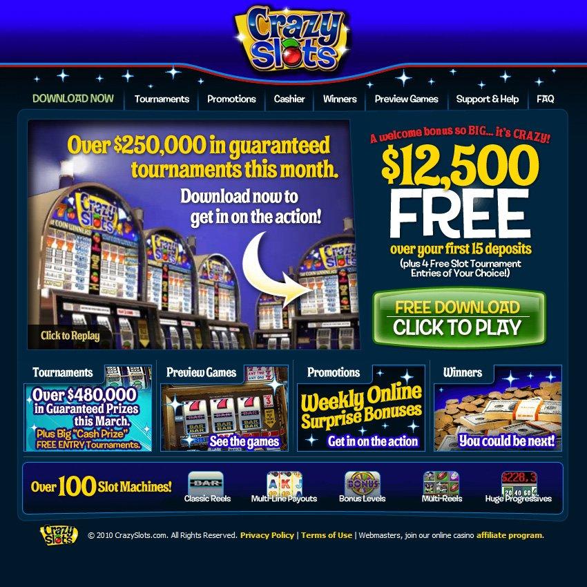 Online Casino Slots No Deposit Bonus