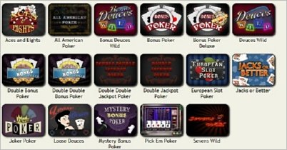 Free Video Poker Games , Play Free Video Poker Games